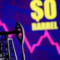 cena ropy WTI v záporu a900a